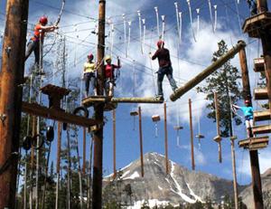 Big Sky High Ropes Course / Big Sky Adventure