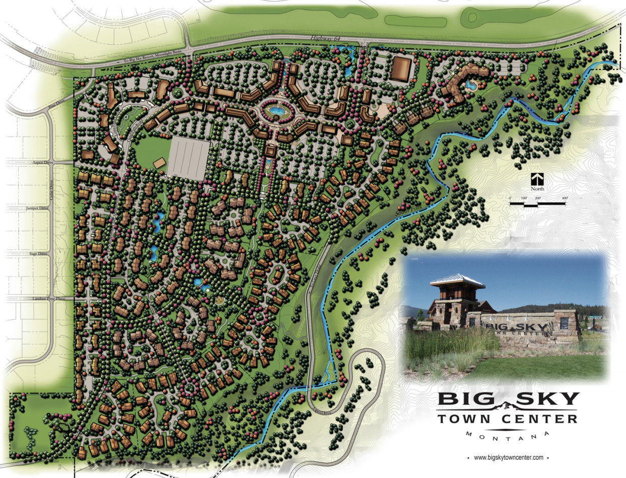 Big Sky Town Center Master Plan