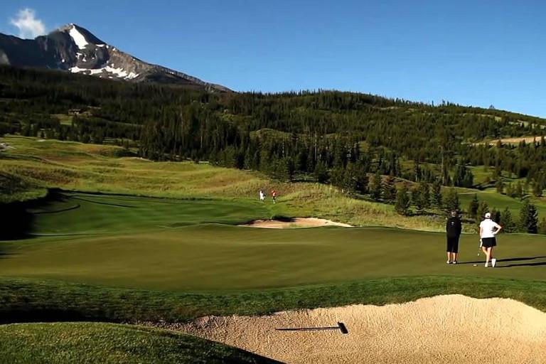 Moonlight Basin Golf Course