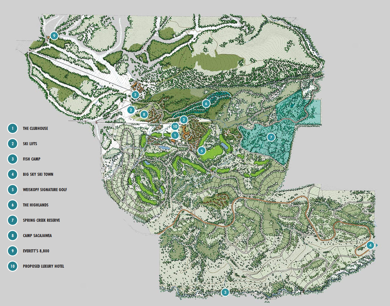 Spanish Peaks Mountain Club - Big Sky Real Estate Group on missoula map, united states map, montana map, big sky resort map, big sky mountain village map, new york map, lost trail powder mountain map, alpe d'huez map, bozeman map, google map, sugarloaf map, utah map,