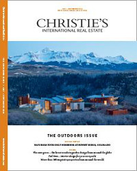 Christies International Real Estate Magazine Outdoor Issue