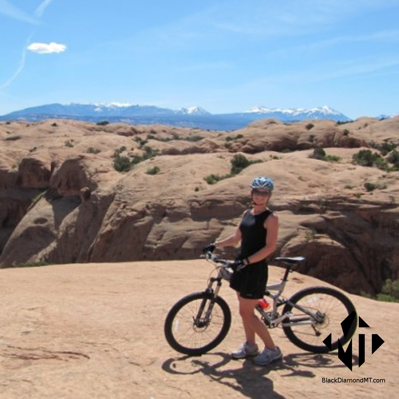 Christy Delger Mountain Biking