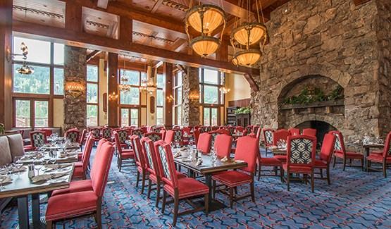 Warren Miller Lodge Dining Room